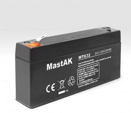 Аккумулятор 6V/3.2Ah (130x35x61)