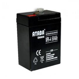 Аккумулятор 6v/4Ah (70x48x101)