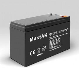 Аккумулятор MT1270 Mastak (12V/7Ah)