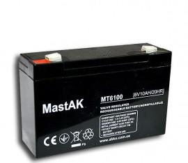 Аккумулятор MT6100 Mastak (6V/10Ah)