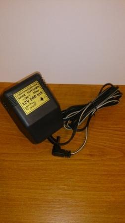 Блок питания 12V 500mA (штекер 5.5мм х 2.1мм)